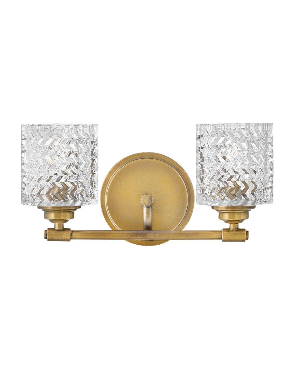 Elle Two Light Vanity