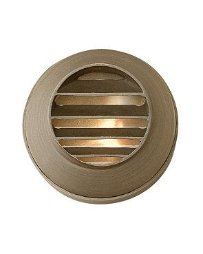 Hardy Island Round Louvered Deck Sconce Family