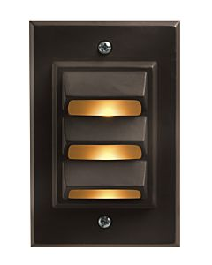 Vertical LED Deck Sconce