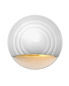Round Eyebrow LED Deck Sconce