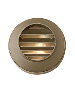 Hardy Island Round Louvered Deck Sconce