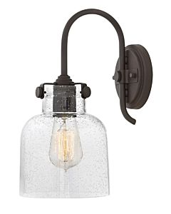 Cylinder Glass Single Light Sconce