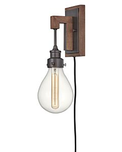 Single Light Plug-in Sconce