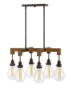 Medium Six Light Linear