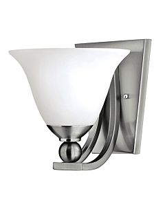 Bolla Brushed Nickel Single Light GU24 Sconce