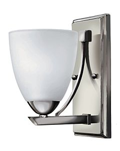 Pinnacle Chrome One Light Bath Wall Light