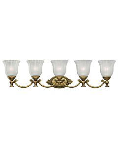 Five Light Vanity
