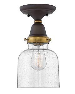 Cylinder Glass Flush Mount