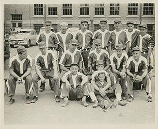 Hinkley Baseball 1950